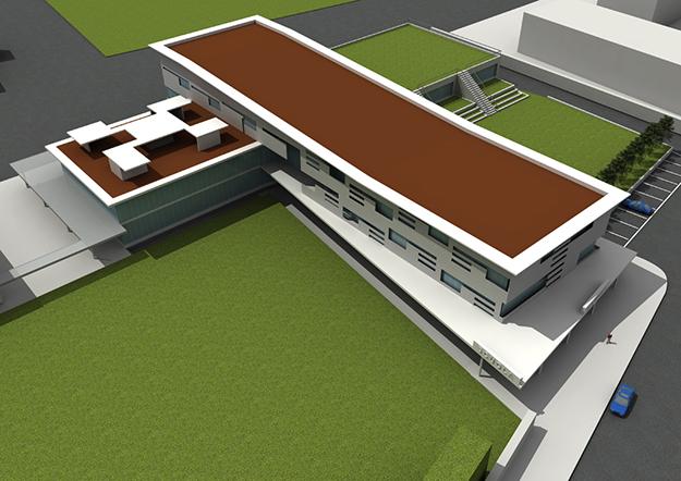 Pico Communications - Studio architettura Mambretti (IT) - Modellazione e render architettonico