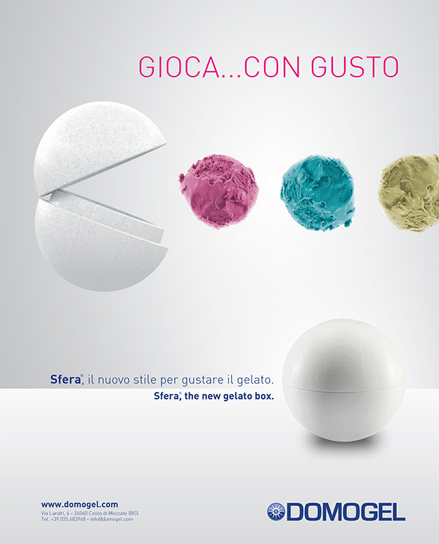 Pico Communications - Domogel (IT) - ADV Campaign - Sfera