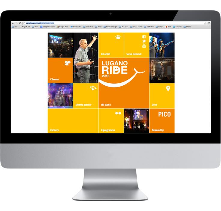 Pico Communications - Lugano ride (CH) - Web site