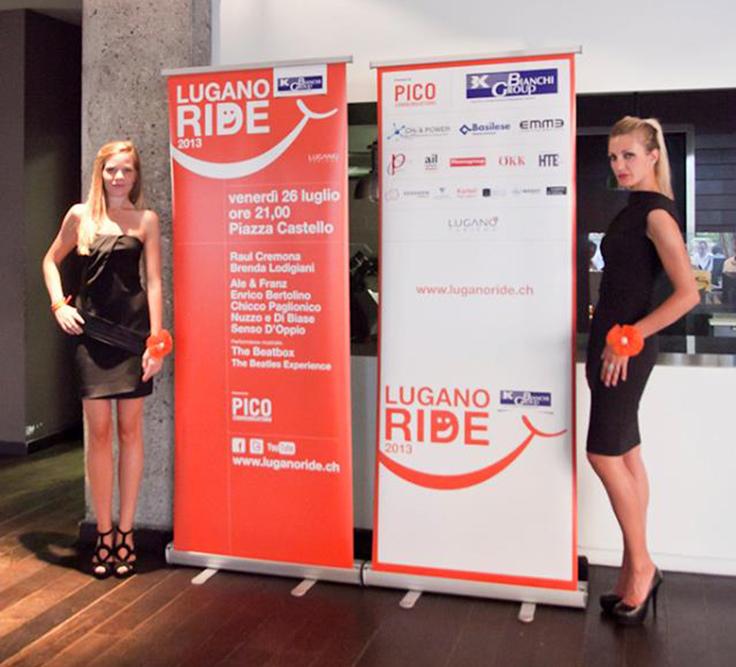 Pico Communications - Lugano ride (CH) - Lugano ride 2013