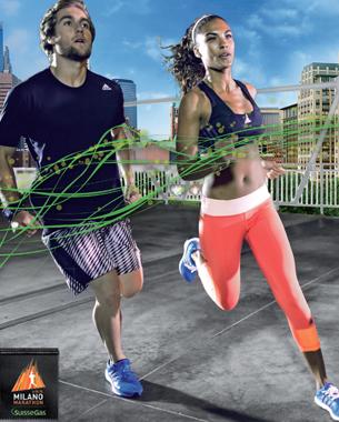 Pico Communications - SuisseGas (CH) - ADV Campaign - Milano Marathon 2014