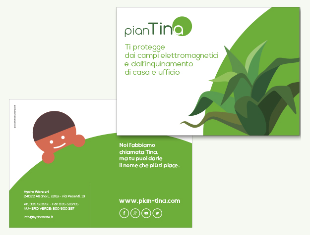 Pico Communications - Hydro Ware (IT) - Flyer PianTina