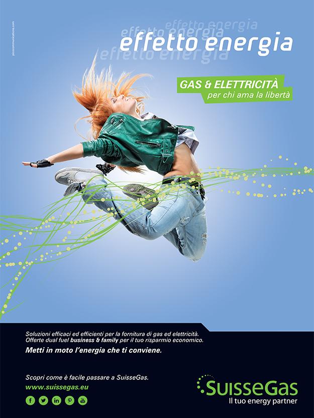 Pico Communications - SuisseGas (CH) - ADV Campaign 2014