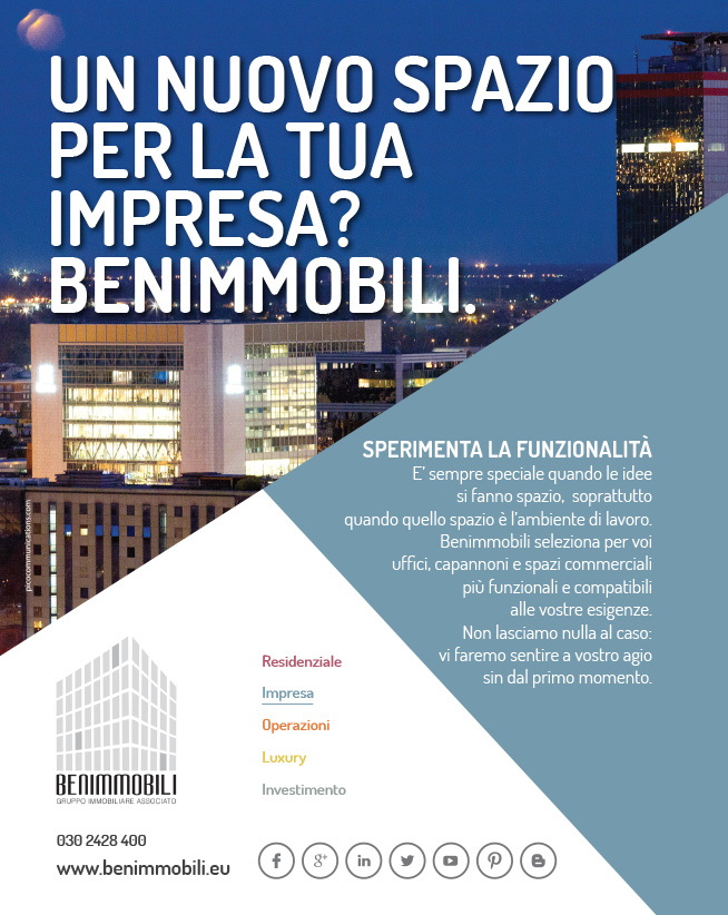 Pico Communications - Benimmobili (IT) - ADV Campaign