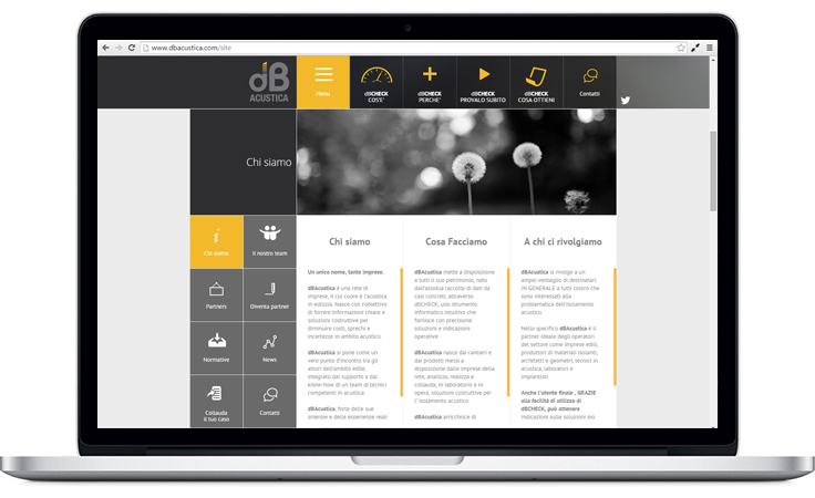 Pico Communications - dB Acustica (IT) - Web site