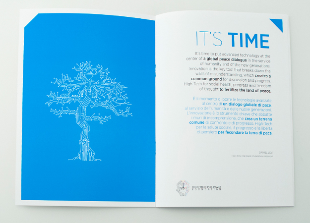 Pico Communications - High-Tech for Peace Foundation (CH) - Brochure