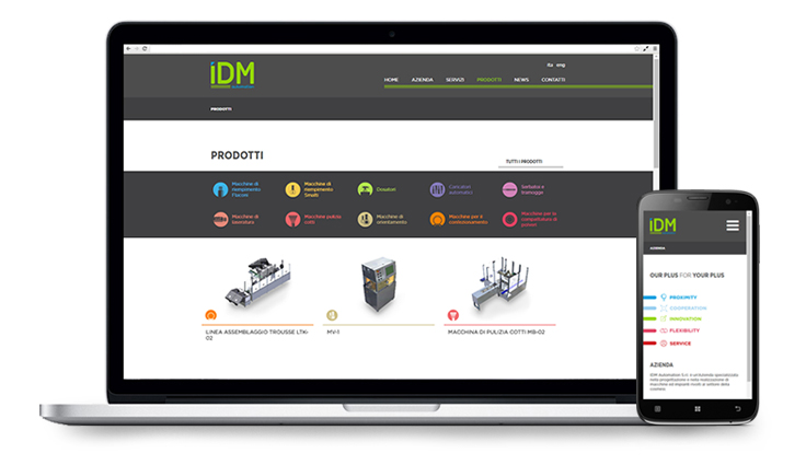 Pico Communications - IDM Automation (IT) - Web site