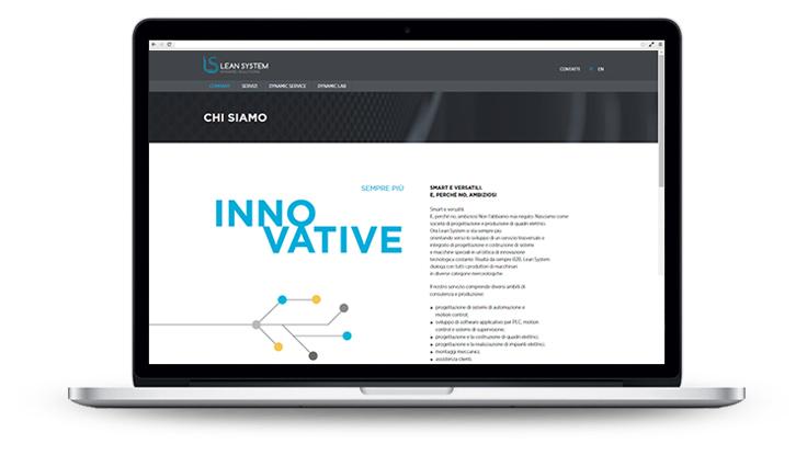Pico Communications - Lean System (IT) - Web site