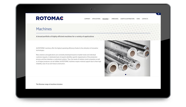Pico Communications - Rotomac - IMS Technologies Group (IT) - Web site