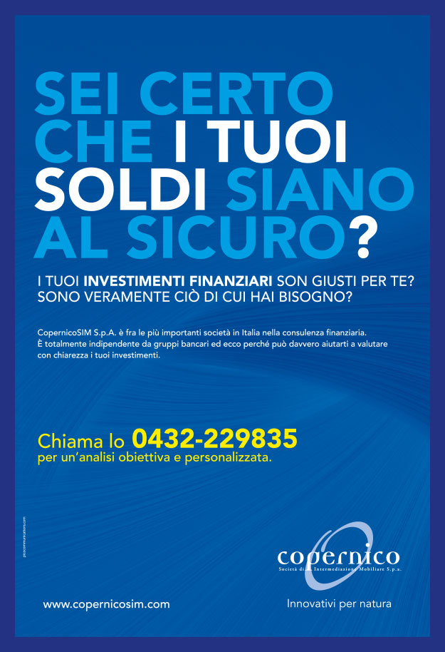 Pico Communications - Copernico SIM (IT) - ADV Campaign - Messaggero Veneto