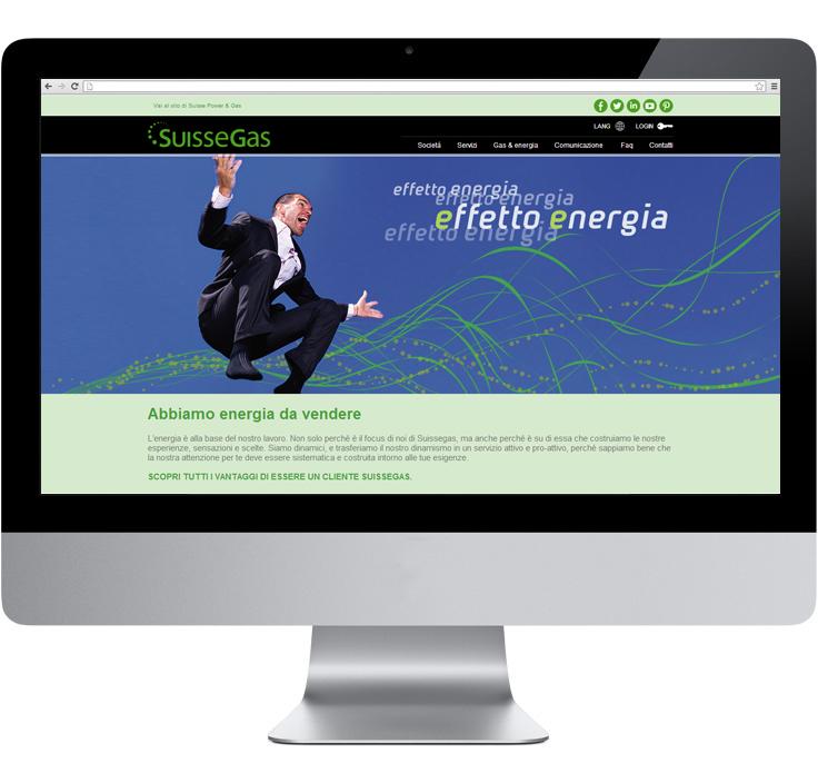 Pico Communications - SuisseGas (CH) - Web site