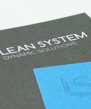 Pico Communications - Lean System (IT) - Biglietti da visita