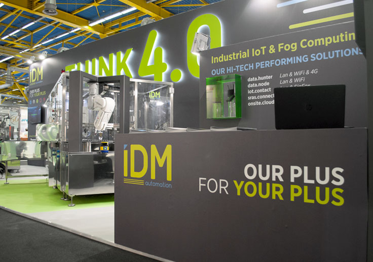 Pico Communications - IDM Automation (IT) - Stand Cosmopack