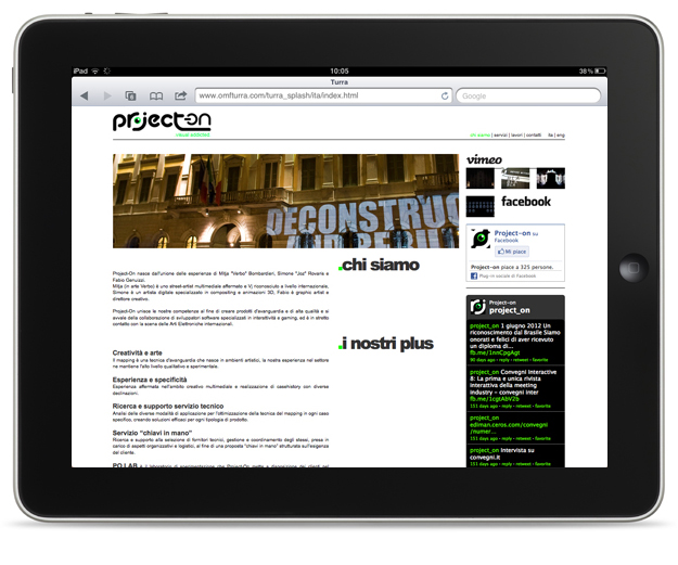 Pico Communications - Project-On (IT) - Web site