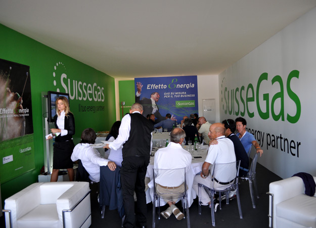 Pico Communications - SuisseGas (CH) - Stand Hospitality - BMW Italian Open