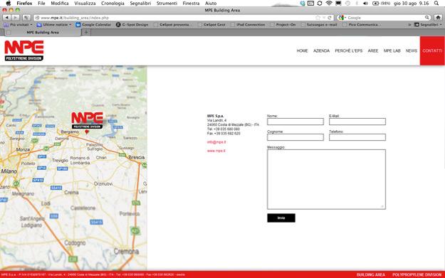 Pico Communications - MPE (IT) - Web site