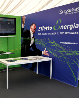Pico Communications - SuisseGas (CH) - Stand Open Village - BMW Italian Open 2012