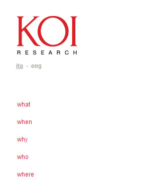Pico Communications - KOI Research (IT) - Web site