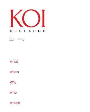 Pico Communications - KOI Research (IT) - Web site